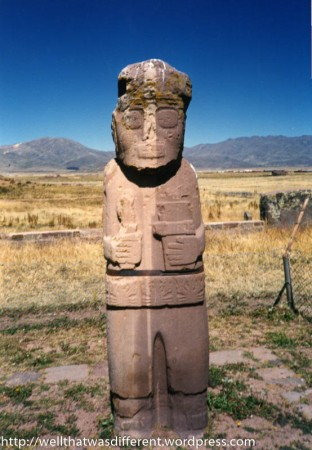 This is an ancient pre-Inca statue. Again, WRONG. No matter how desperate you are.