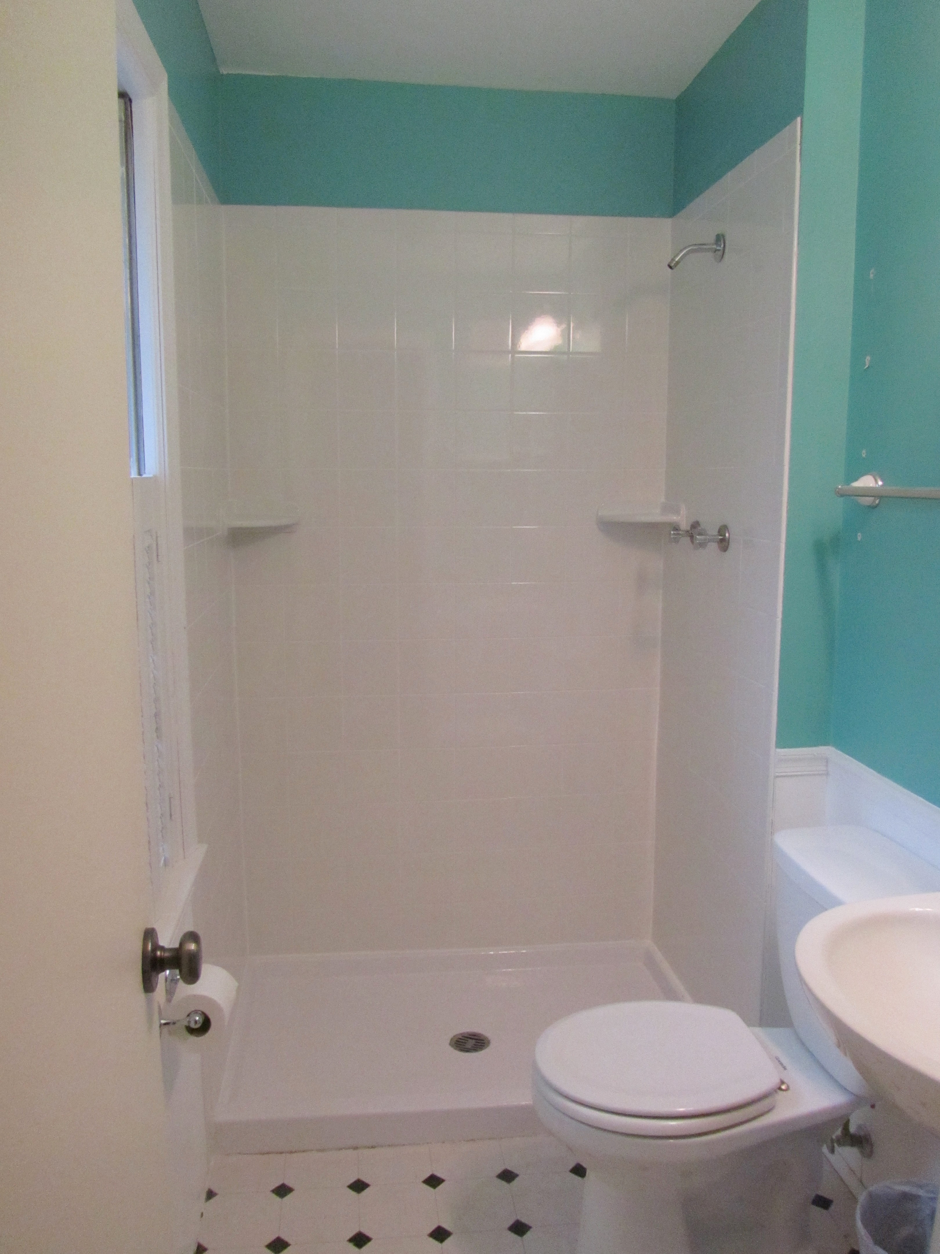 home depot mirror trim with More House Like Thrifty Bathroom Renovation on 411797959649404635 moreover mirrormate furthermore Subway Tile moreover 202022525 additionally 10 Diy Ideas For How To Frame That Basic Bathroom Mirror.