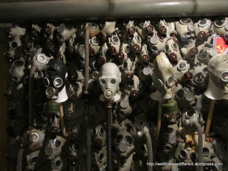 This really reminds of of skulls in a catacombs, or the Bone Church.