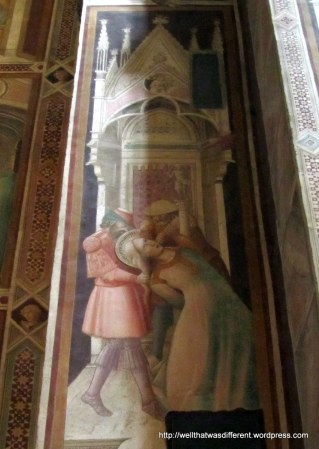 Santa Croce fresco. This will not end well.