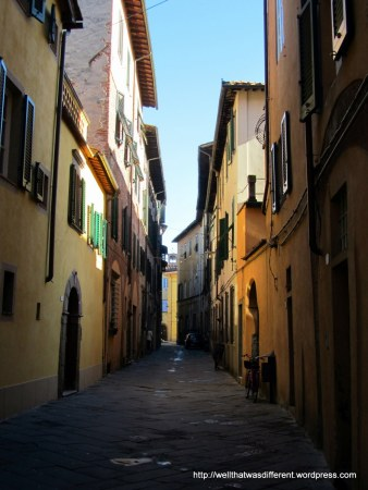 Just a pretty street.