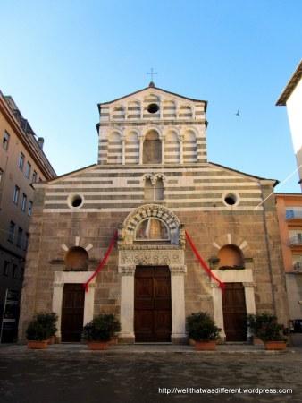 San Giusto--Romanesque era church.