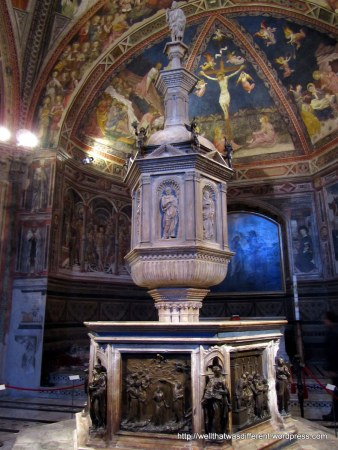 In the Baptistery.