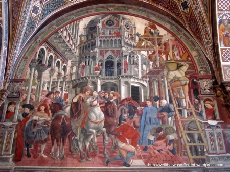 15th century construction techniques.