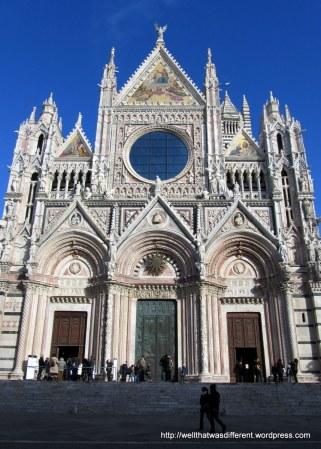 The Duomo in Siena.