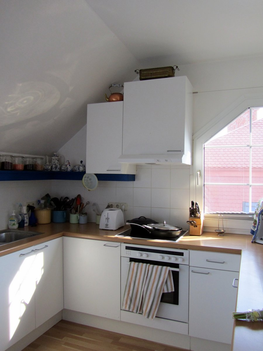 Attic Kitchen Were Movin On Up Well That Was Different