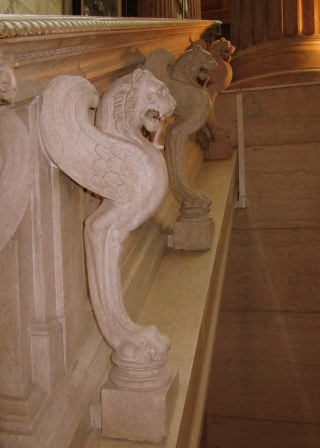 Lots of neat details like this balustrade.
