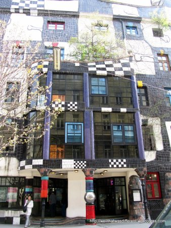 The Hundertwasser Museum (which is really cool.)