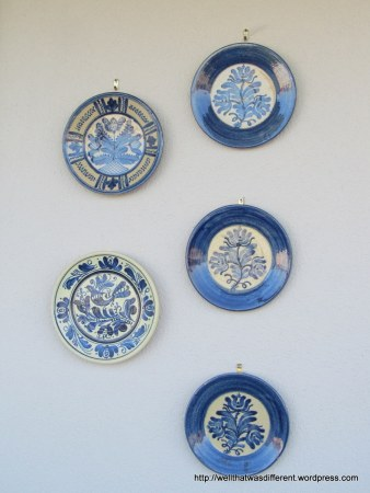 More thrift: Turkish plates.