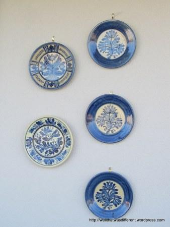 More thrift: Turkish plates.