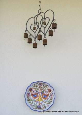 I actually paid FULL RETAIL for the Tirolean heart thingy in Salzburg. Makes a very nice tinkling sound in the wind.