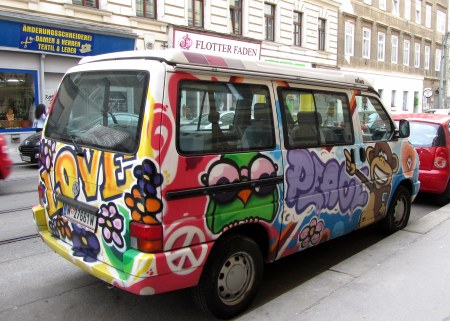 So cool. I wonder if I could employ some of these graffiti artists to decorate my old Honda before I leave the country?