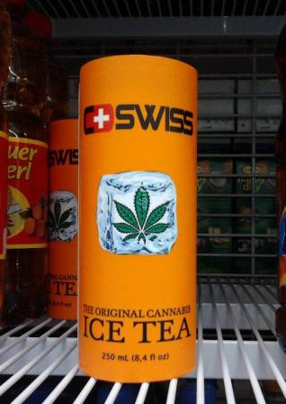 Cannabis iced tea. The original kind, not that other kind you normally drink.
