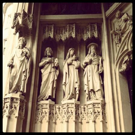 Portal of Maria am Gestade.