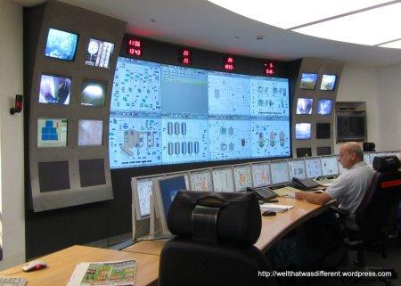 Spankin' clean control room.