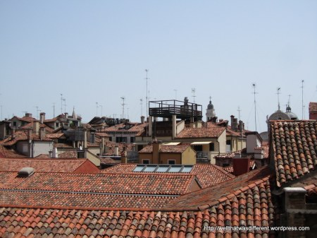 Venice rooftops.