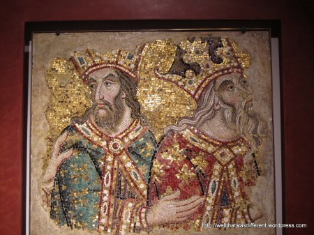 Mosaic in the museum.