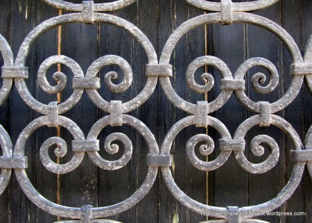 I have a thing for wrought iron.