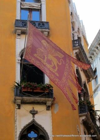 The Venetian flag.