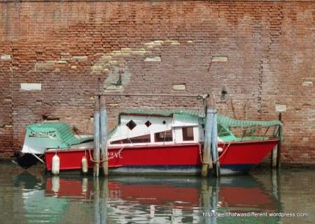 Boat in the ghetto.