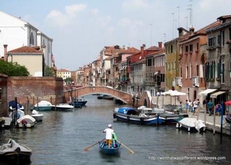 Canal in Cannareggio.