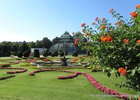 Really, really tidy gardens.