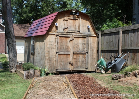 What--your parents don't have a barn and compost heap in the backyard?