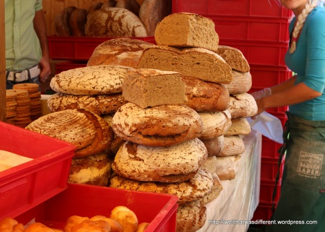 Traditional breads.