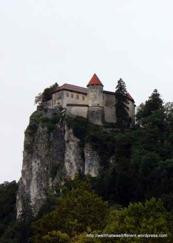 The castle as seen from the town.