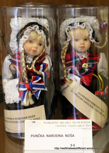 Poor little imprisoned dolls in the gift shop ):