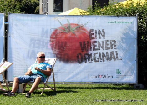 """""""A Viennese Original"""" right before his wife brought him a beer, lol."""