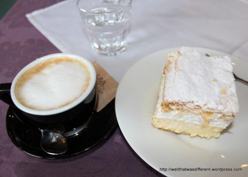 Cream cake!  With cream!
