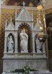 Altar in the church.