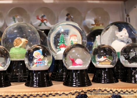 You name it, they will put it in a snow globe for you.