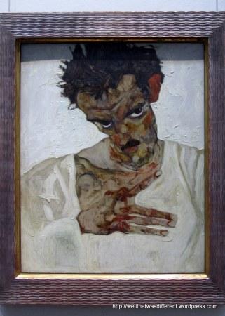 Egon Schiele.  A scrawny little dude with major talent.