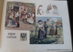 The book has lots of these color illustrations of traditional Austrian dress from the time. It's really cool.
