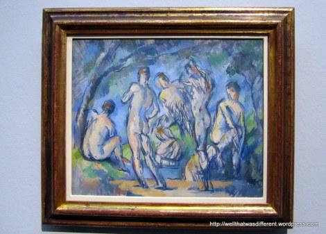 A little Cezanne.