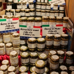 Italian specialties for sale.
