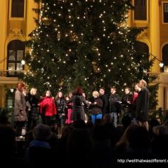 A Czech choir sings carols.
