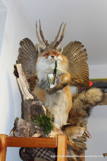 A Wolpertinger. Yikes.