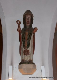 14th century statue of St Ruprecht