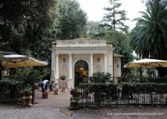 Cafe at the Borghese Gardens