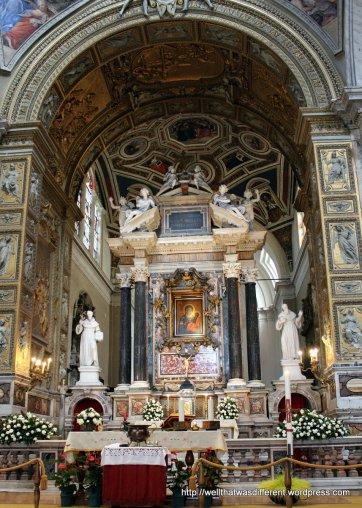 Santa Maria del Popolo: altar