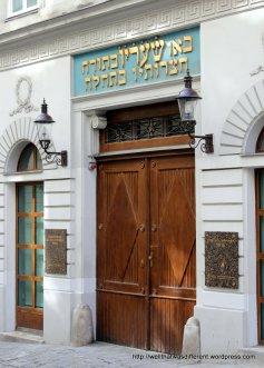 The Jewish temple