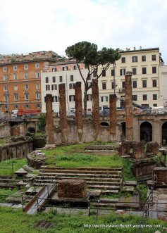 Random Roman ruins that were revealed when some unlucky person tried to build a luxury apartment complex in the 1920s