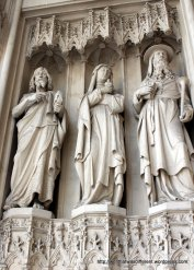 Neo-Gothic 19th century sculptures