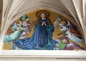 19th century mosaic--Assumption