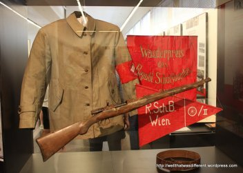 Uniform of the Republican Protection Society: the Socialists' answer to fascist paramilitaries financed by Italy in the 1920s