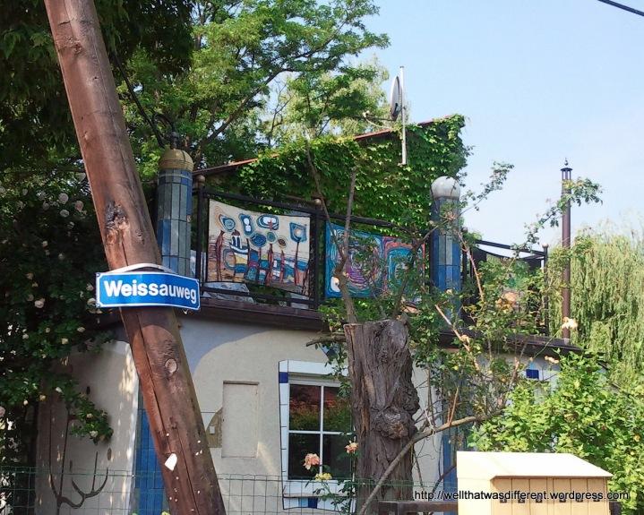 Gartenhaus owned by a Hundertwasser aficionado.