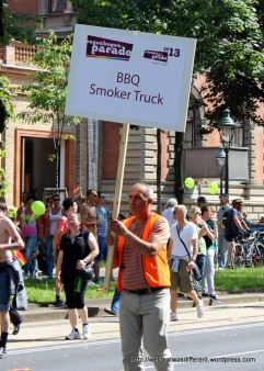 Grillmeisters in support of gay rights.